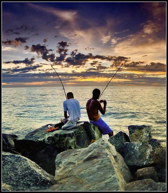 Cottesloe Groyne at sunset