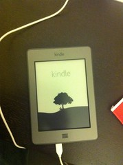 Startup Screen of Kindle Touch