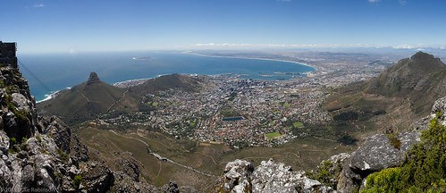 Cape Town from Table Mountain (Panoramic)