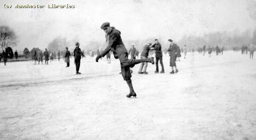 Skating, 1930