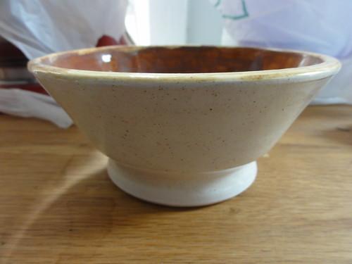 Finished bowl