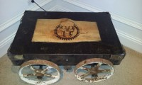 Steampunk coffee table | Flickr - Photo Sharing!