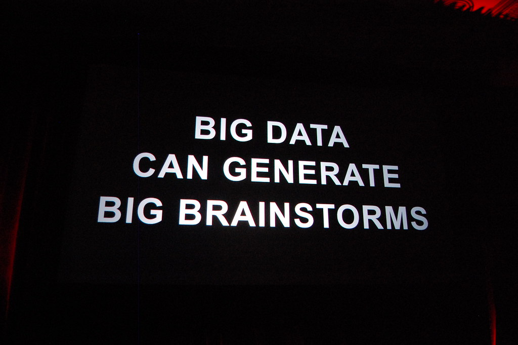 Big Data Can Generate Big Brainstorms