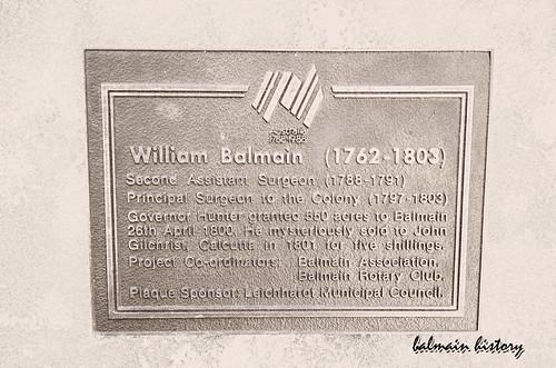 BALMAIN HISTORY photo