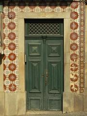 Azulejo door