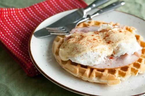 Waffle Benedicts