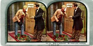Herman Knutzen stereoview card, 1906, part 1 of 6