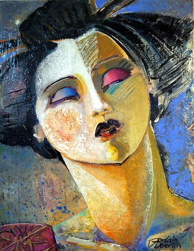 Geisha by alain bertin