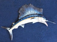 Blue Marlin Fish Wall Decor by SEASTYLE | SEASTYLE ...