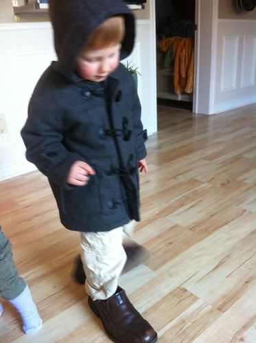 Taking a walk in Dad's shoes