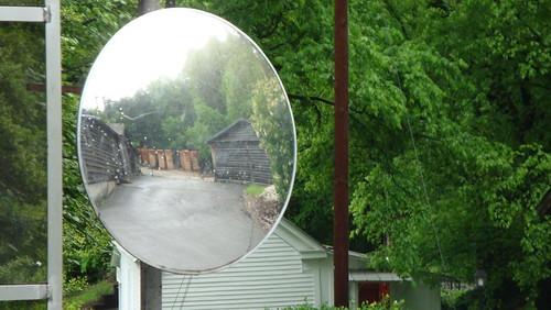Mirror at Jack Daniels