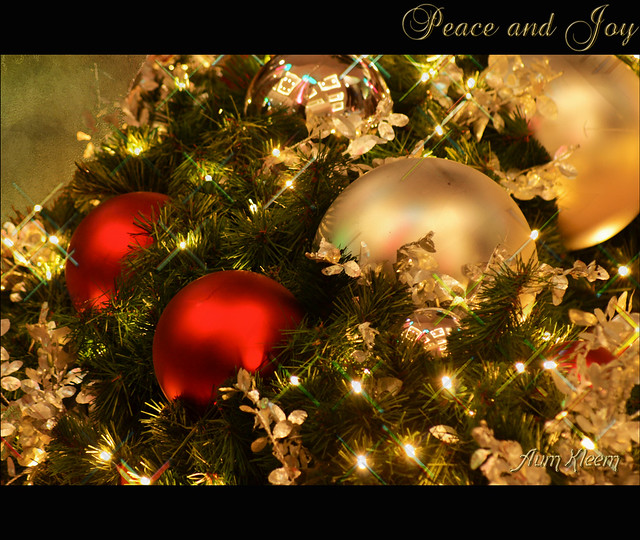 Peace And Joy to all of you, my friends