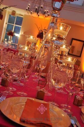 Candle centerpieces