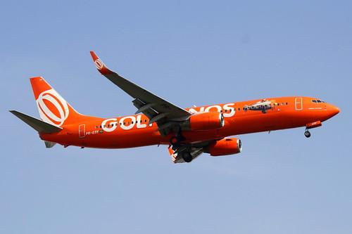 Boeing 737-800 da Gol @ SBGR