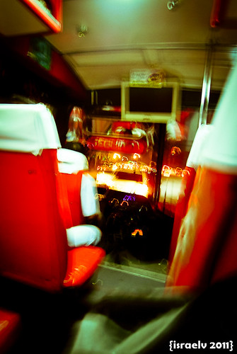Bumpy Bus Ride by israelv