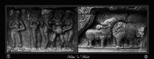 Sculpture Inside Airavatesvara Temple 1