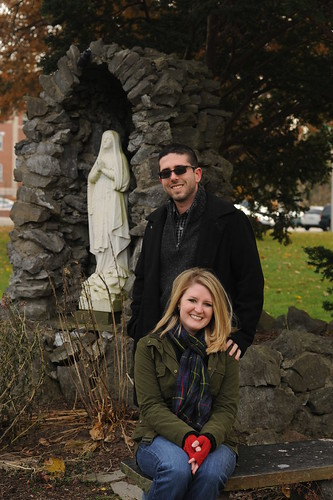 Todd and Stephanie Snyder at Siena College
