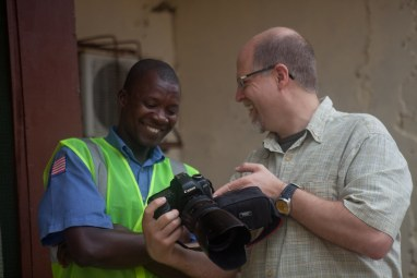 Behind the Scenes – Together-Liberia - Ken Harper