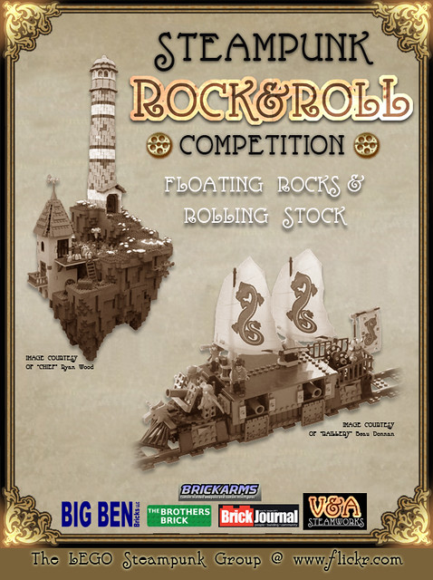 LEGO Steampunk Rock and Roll Competition  Flickr  Photo
