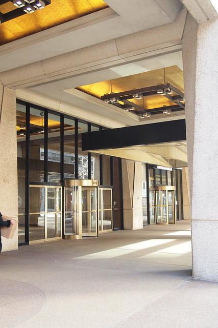 Entrance, 909 Third Avenue. Photo by Ellen Brenna Dougherty