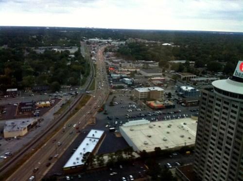 Tower Room view, Memphis, Tenn.