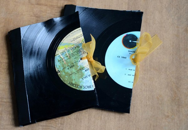 DIY: How to Make a Vinyl Record Notebook | Stars for Streetlights