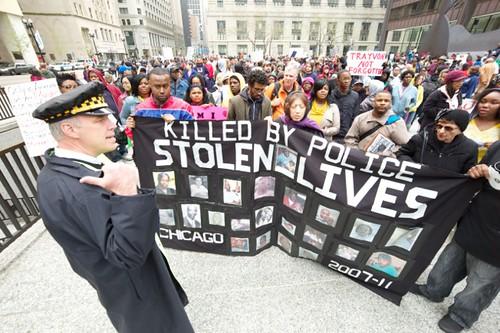Chicago Protest for Trayvon Martin