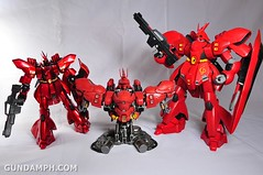 Formania Sazabi Bust Display Figure Unboxing Review Photos (71)
