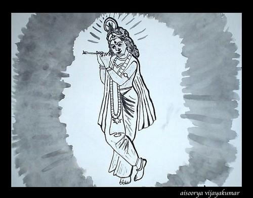 Mesmerizingly Musical - Lord Krishna