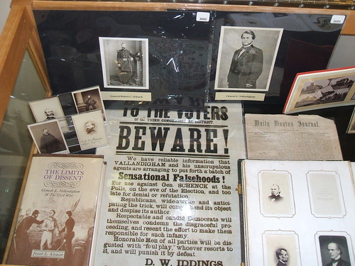 Civil War Exhibit, Local History Room
