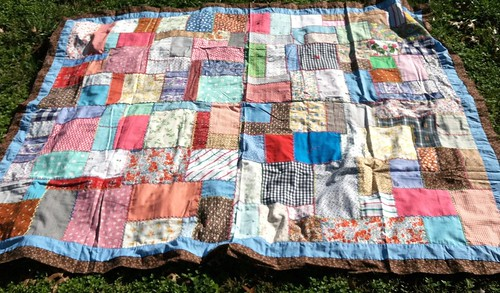 embroidered quilt