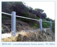 replas - recycled plastic fence posts - port elliot south ...