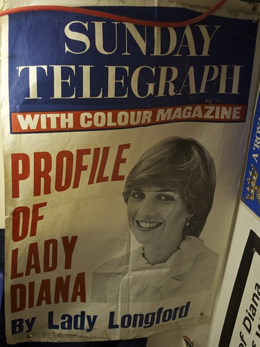 Lady Diana newspaper poster DSC_4202