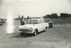 Dad's Cortina GT Snetterton 2