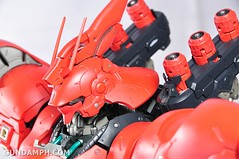 Formania Sazabi Bust Display Figure Unboxing Review Photos (85)