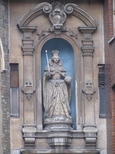 Statue, near Chancery Lane