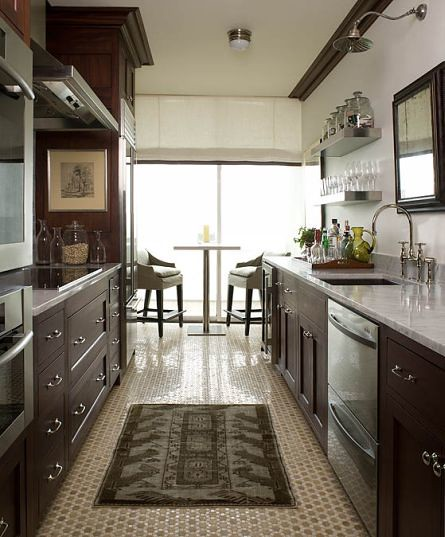 Corridor or Galley kitchens  a gallery on Flickr