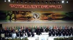 Delegates at the African Union summit 2011