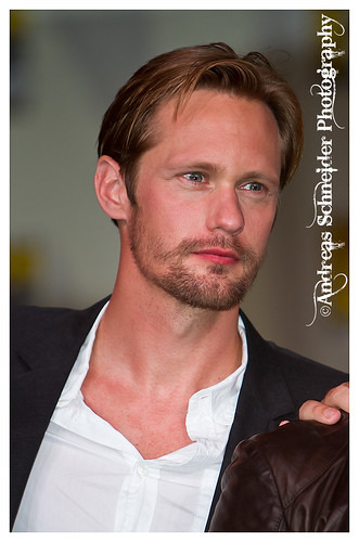 Alexander Skarsgård at the True Blood panel at Comic-Con 2011