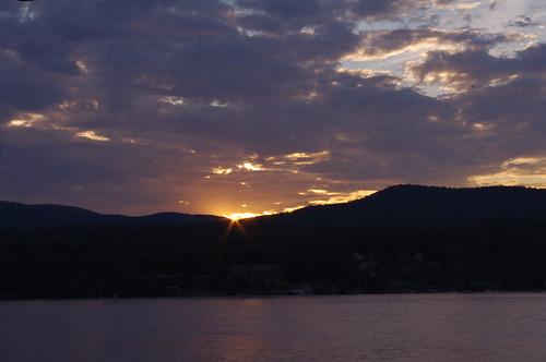Lake George Sunset by PhilaSilva