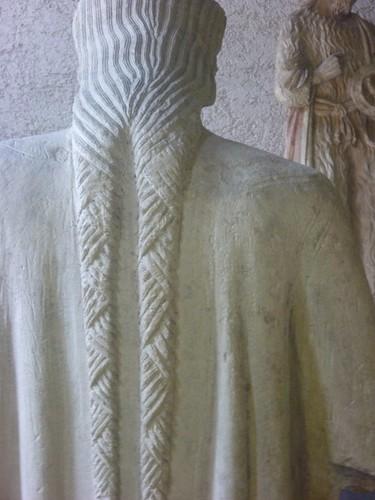 Castelvecchio Museum statue - braids
