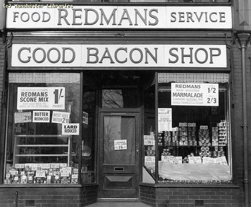 Good Bacon Shop, Chorlton, 1959
