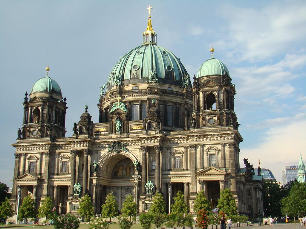 exterior Catedral de Berlin Alemania 03