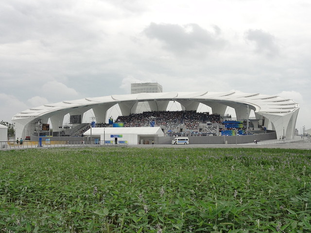 The Shanghai Oriental Sports Center diving pool