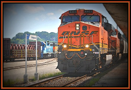 BNSF  @ Burlington by Loco Steve