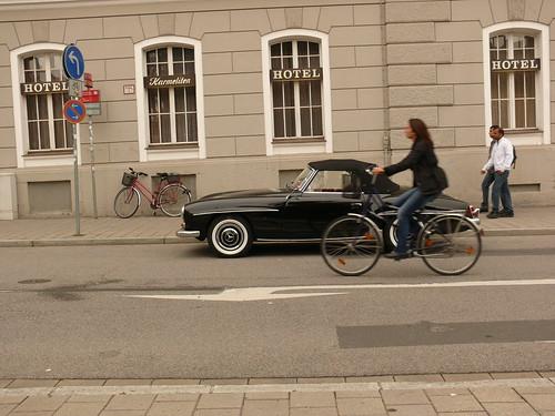 Mercedes+bicycle