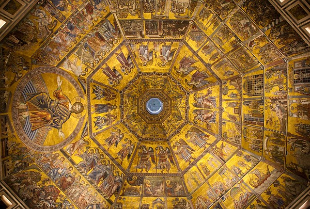 The ceiling of the Florence Baptistery by Art History Images (Holly Hayes) on Flickr