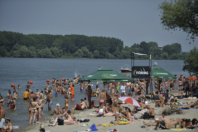 Beach at EXIT Village #EXIT2011