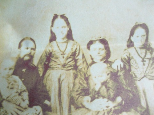 Thomas and Catherine Yarrow and family