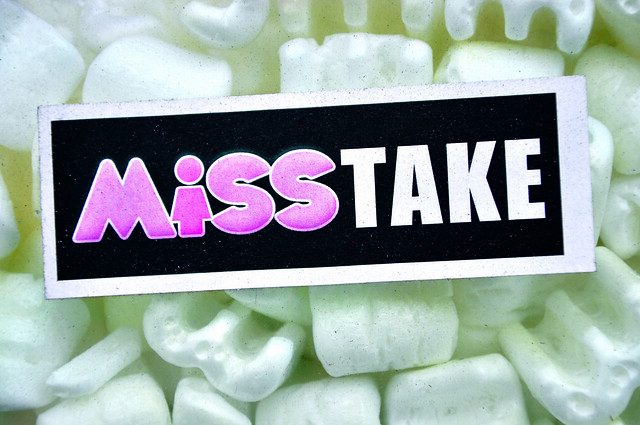 Photo:Mistake! By:margoplenge